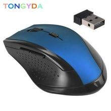 USB Wireless Mouse 1000DPI Adjustable USB 2.0 Receiver Optical Computer Mouse 2.4GHz Ergonomic Mice For Laptop PC Silent Mouse solarbox x07 blue usb travel optical mouse 1000dpi прозрачный корпус с led подсветкой