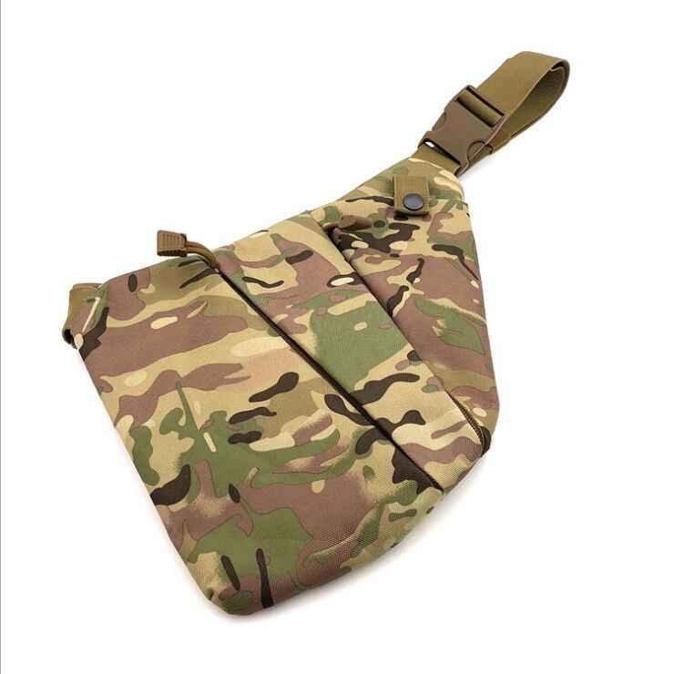 Multifunktionale Verdeckte Taktische Lagerung Gun Tasche Holster Männer der Links Rechts Nylon Schulter Tasche Anti-diebstahl Tasche Brust Tasche jagd