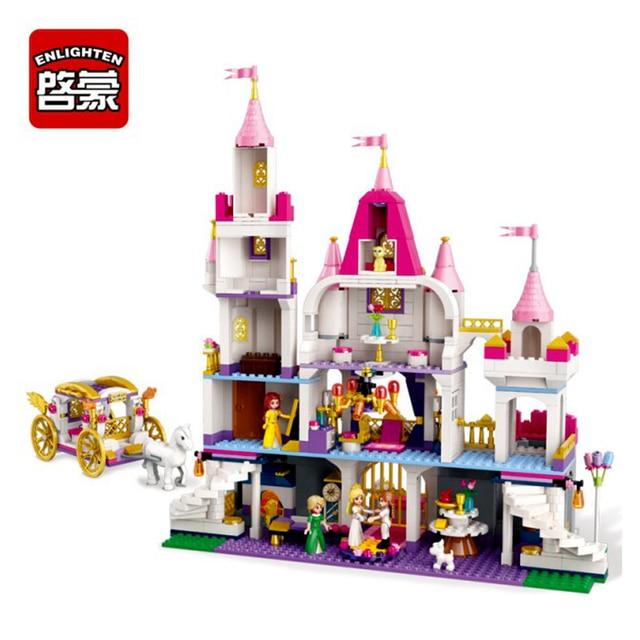2612 940 stücke Mädchen Traum Stadt Konstruktor Modell Kit Kompatibel Blöcke Ziegel Spielzeug für Jungen Mädchen Kinder Modellierung