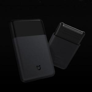 Image 4 - מקורי Xiaomi Mijia מכונת גילוח נייד חשמלי תער גילוח USB נטענת 60HRC יפן פלדה Mens נסיעות