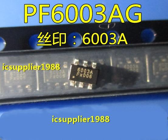 20PCS-100PCS/LOT  PF6003AG  6003A  SOT23-6 SMD  Power Management Chip