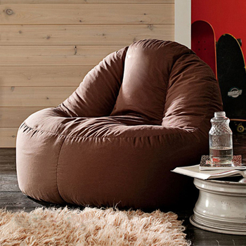 LEVMOON beanbag sofa  lounger bean bags chair living roon sitzac just cover without the filling - discount item  8% OFF Home Furniture