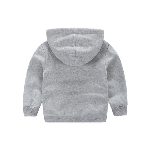 Children Winter Thicker Boys Sweatshirts Coat Long Sleeve Kids Coat Fit 2-7ages  2