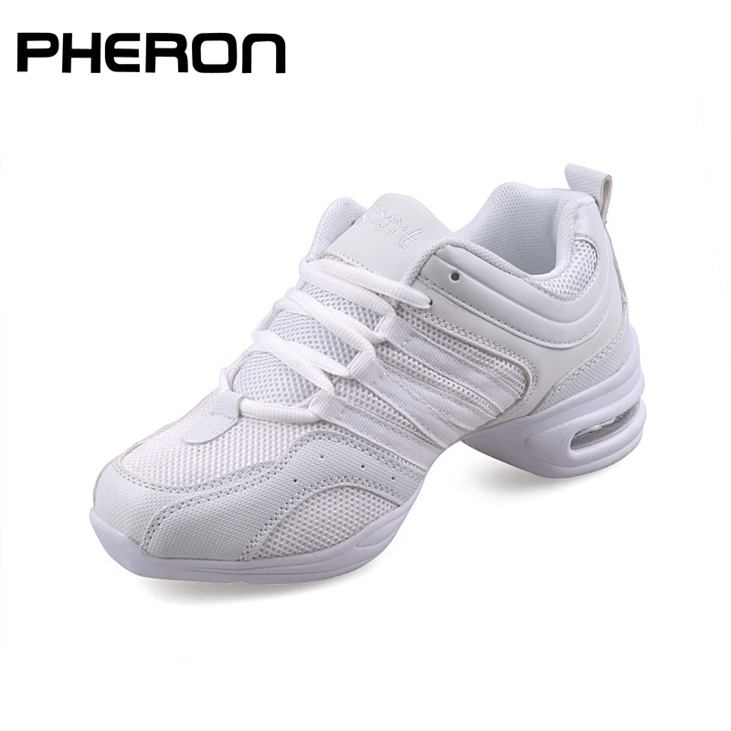 Women's Dancing Shoes Soft Outsole Woman Breath Hip Hop Shoes Sports Feature Dance Sneakers Ladies Girl's Modern Jazz Shoes 2020