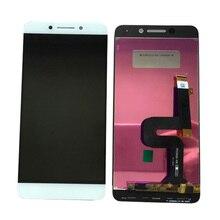 """5.5 """"branco para coolpad changer legal s1 C105 6 C105 8 display lcd com tela de toque digitador sensor montagem do painel"""