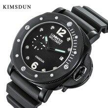 Reloj de cuarzo deportivo informal para hombre, relojes para hombre, reloj de cuarzo de primera marca, con correa de goma, reloj militar, reloj de pulsera para hombre