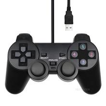 Przewodowy kontroler USB na PC dla WinXP/Win7/Win8/Win10 komputer Laptop czarny Gamepad Joystick