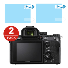 2x LCD Screen Protector Protection Film for Sony A7 II III A7S A7R IV A99 A9 A6300 A6000 A5000 A6400 NEX 7/6/5/3N/C3 A33 A35 A55