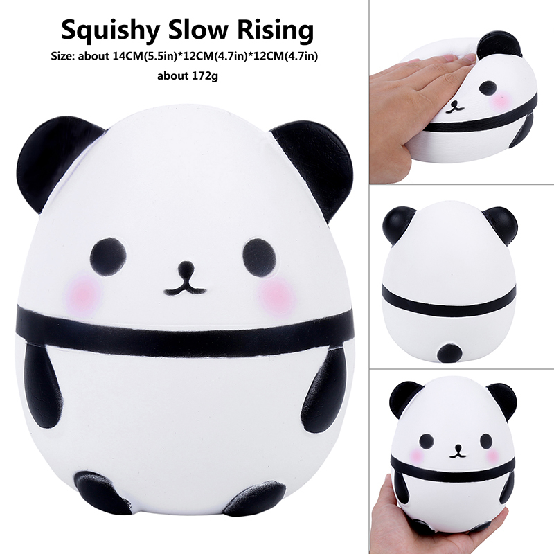 Cute Panda Squishy Slow Rising Soft Squeeze Toys For Children Kawaii Animal Doll Funny Stress Reliever Toys For Kids Adults Gift