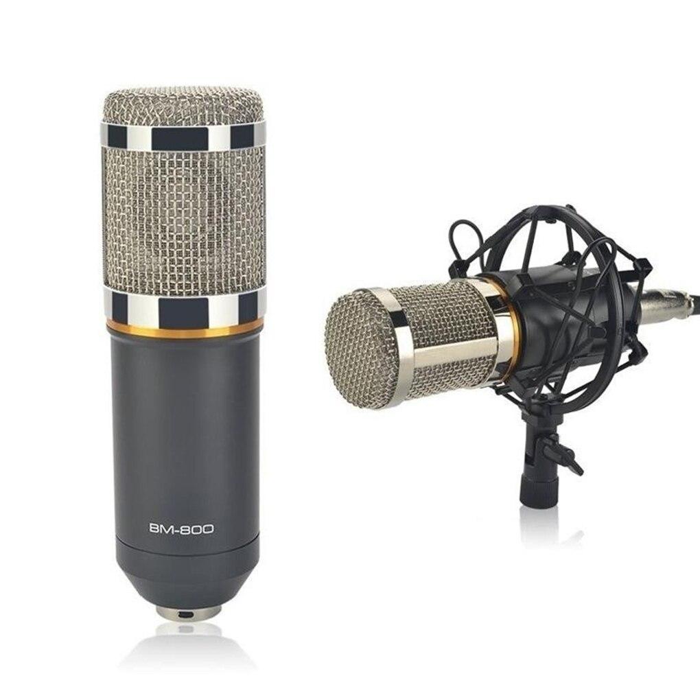 BM800 Kit micro à condensateur Suspension Studio bras ciseaux enregistrement Studio Microphone de diffusion