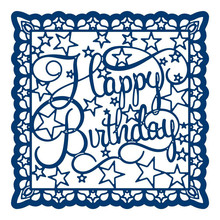 Buy Happy Birthday Letter Frame Metal Cutting Dies for Scrapbooking New 2019 Craft Dies Embossing Dies Cuts Card Making Stencils directly from merchant!