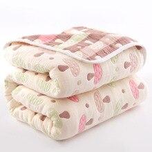 150--120cm Blanket Quilts Baby Newborn Children's 100%Cotton for Cartoon-Pattern Bed-Sheet