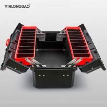 Organizer Suitcase-Case Tool-Box Plastic Multifunctional Portable for Removable-Design
