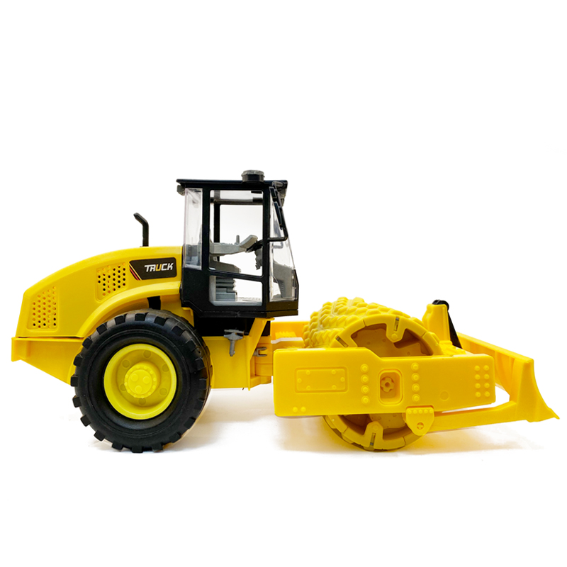 1;18 DiecastInertia Forward Pressure Road Bulldozing Project Truck Boy Toy Car Collection Gift Model Car