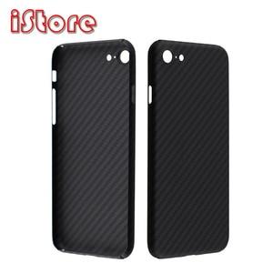Image 1 - CF Skin Carbon Fiber phone case for Apple iPhone se 2020 4.7 iPhone7 8 Thin and Light attributes Aramid fiber material