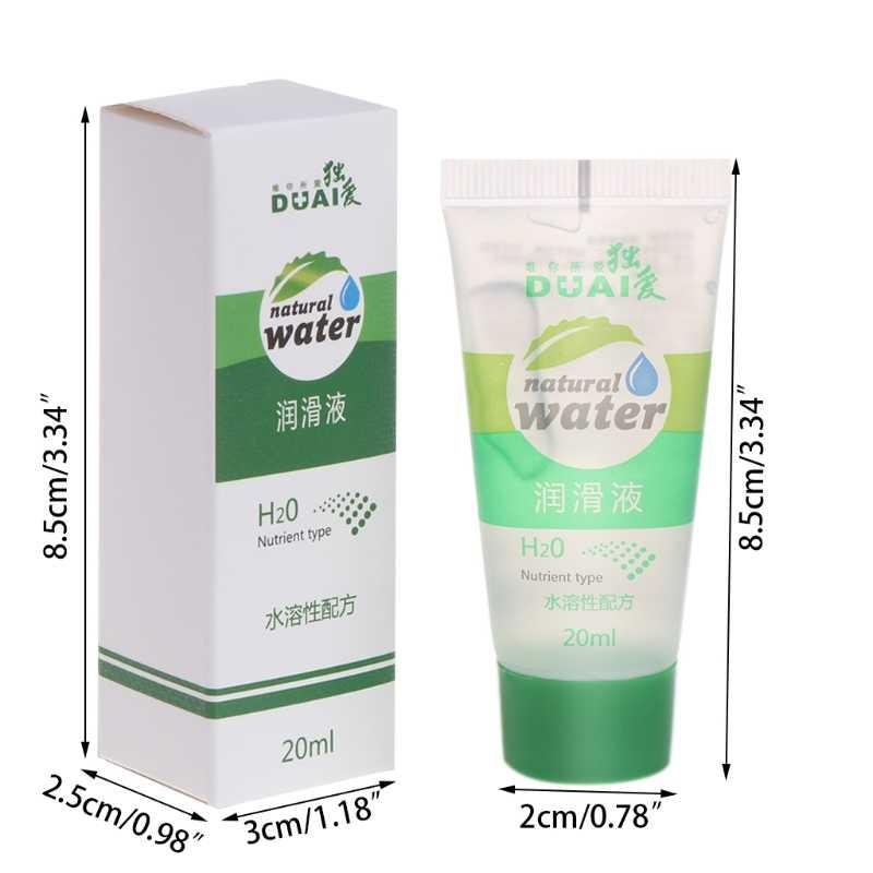 20 ミリリットルのセックス製品絹のような潤滑剤ゲルオイルカップルのための個人的な潤滑油水潤滑油セックス強化マッサージオイル性的健康