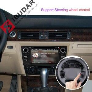 Image 4 - Isudar 2 דין אוטומטי רדיו אנדרואיד 9 עבור BMW/320/328/3 סדרת E90/E91/E92/e93 רכב מולטימדיה וידאו DVD נגן GPS ניווט DVR FM