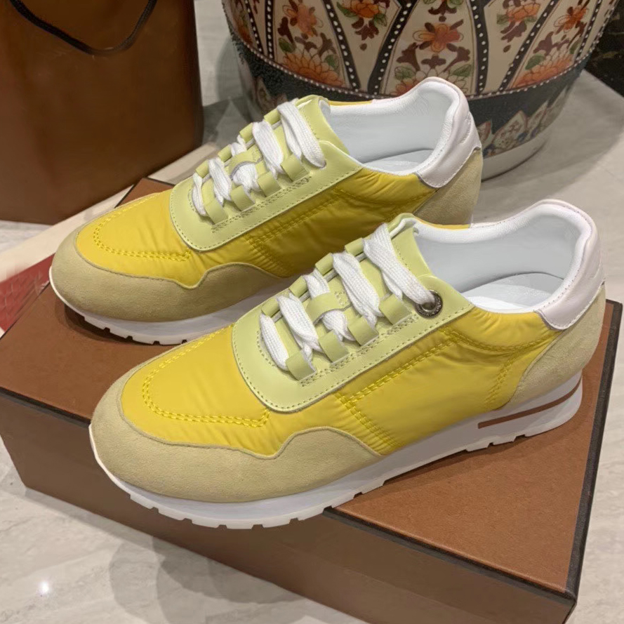 Muliticolor Patchwork Casual Shoes Wedge Inner height Increase heel Sneakers Women lace up real leather breathable running Shoes