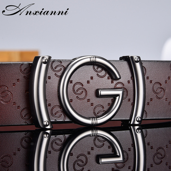 Designer high quality g Letter Belt for Men and Women Smooth Buckle Strap Genuine Real Leather fashion  Belt fashionable crocodile and letter z shape inlay design auto buckle belt for men