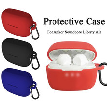 Anti-Shock Fleksibel untuk Anker Sound Core Liberty Air Earphone Clamshell Buka Komprehensif Penuh Penutup Case Pelindung(China)
