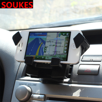 Car GPS Navigation Bracket For Chevrolet Cruze Aveo Opel Insignia Ssangyong kyron rexton Honda Accord CRV Dashboard Air outlet image