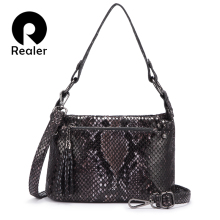 Realer women shoulder bags for women 2019 luxury handbags wo
