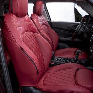Чехол для сиденья с кожаной подушкой, аксессуары для салона автомобиля для BMW MINI COOPER S F54 F55 F56 R56 F60 R60, украшение