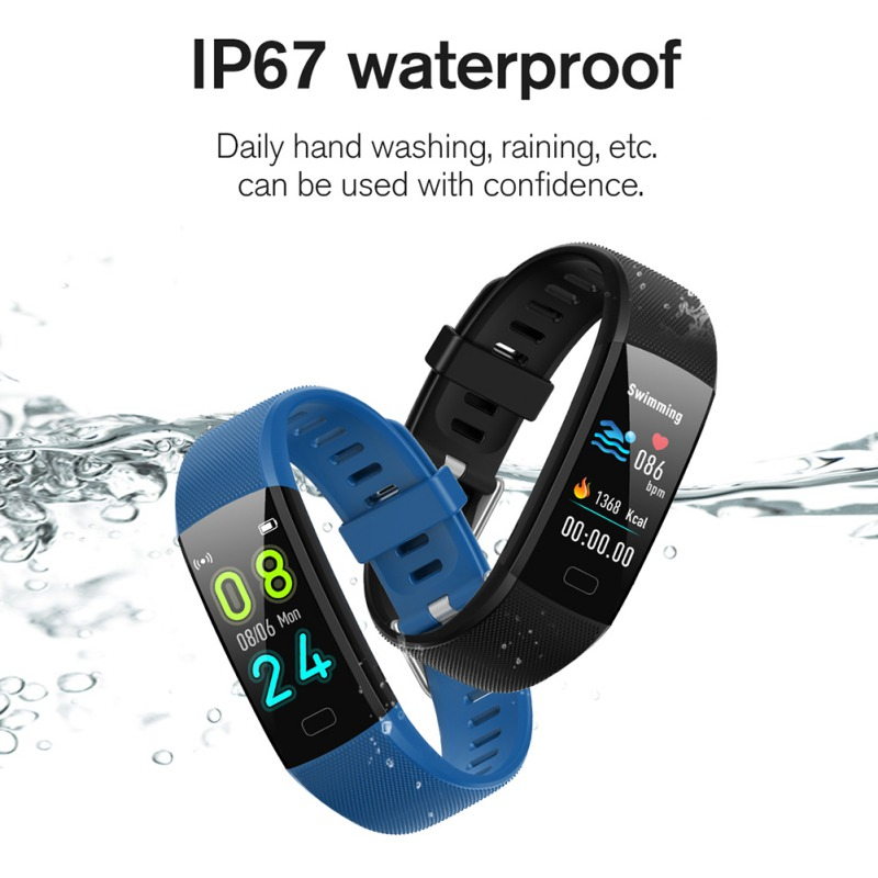 Smart Bracelet Fitness-Tracker Music-Control Sleep-Monitoring Bluetooth Multifunction