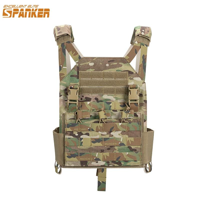 Mükemmel ELITE SPANKER açık askeri yelek taktik plaka taşıyıcı ordu AMP yelek M4 aksesuar takım avcılık su geçirmez yelekler
