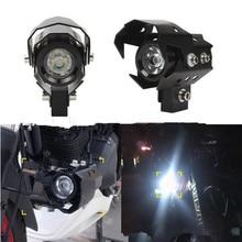 Супер яркий светодиодный мотоциклетный головной светильник 12V мотоциклов лампы белый светильник мотор Водонепроницаемый