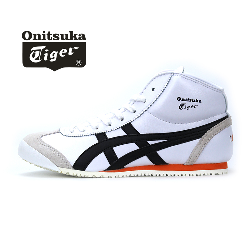 Original Onitsuka Tiger Neutral Sports Shoes Comfortable Breathable Casual Men And Women Shoes Court Shoes High Shoes