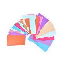 Горячая 5 листов переплет каталожные разделители A5 A6 внутренняя страница блокнот-органайзер разделитель бумаги индекс страницы персональный органайзер