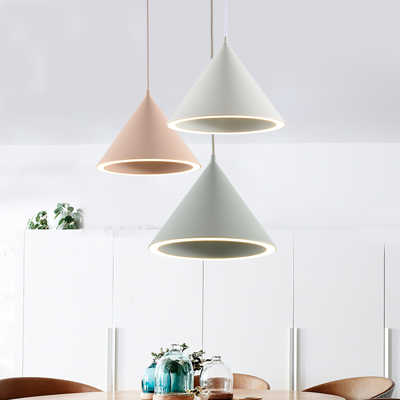 Modern Deco Chambre Glass Ball LED  Pendant Lights Home Decoration E27 Light Fixture Lustre Pendente