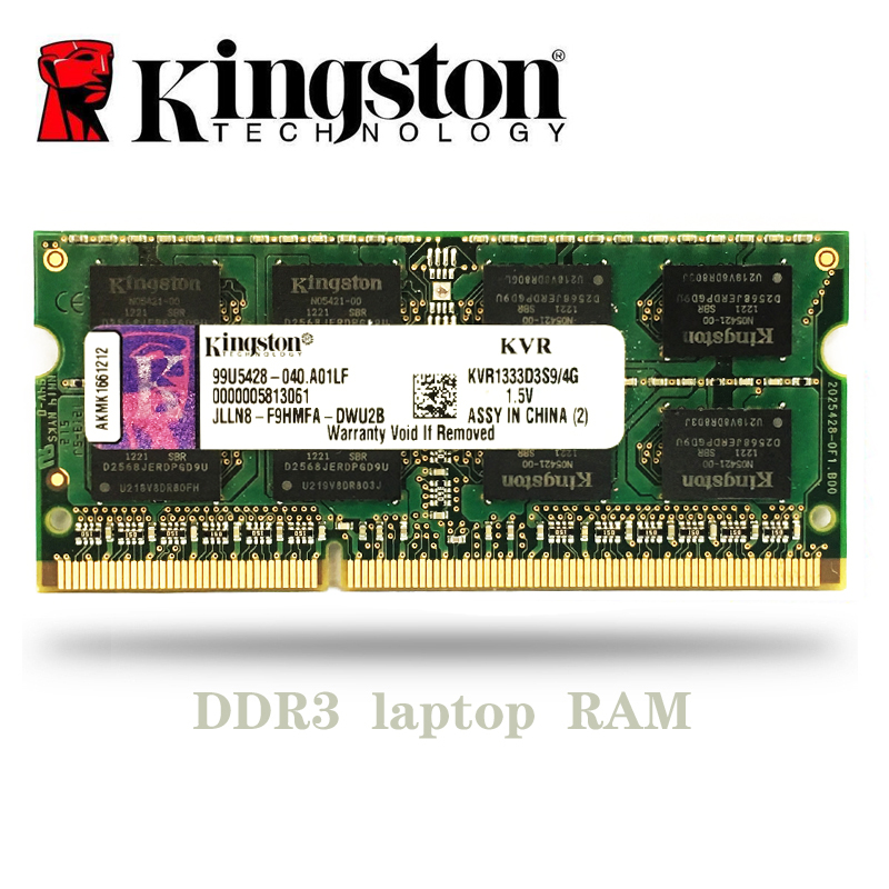 Kingston NB 2 ГБ, 4 ГБ, 8 ГБ, PC3 DDR3 1066 МГц, 1333 МГц, 1600 МГц, 1333 лэптоп ноутбук Память RAM 2g 4g 8g 1600 МГц
