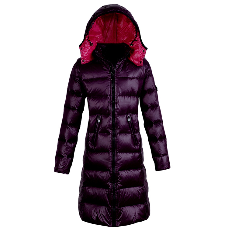 Winter Duck Down Jacket Women Long Down Coat Female Thick Slim Jackets Clothes Fit Ladies Jacket Hooded Warm Coats A01040