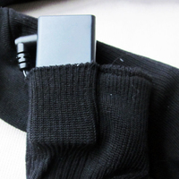 3V Battery Heated Hot Boot Socks Feet Foot Warmer Electric Heater Thermal -