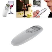 ЖК-цифровой тестер на алкоголь Профессиональный полицейский оповещение дыхательный спирт тестовое устройство анализатор дыхания тест
