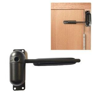Image 1 - 10 60kg çinko alaşımlı yüzeye monte bahar kapı Closer otomatik kapı Closer kapı durdurma kapı donanım aksesuarları