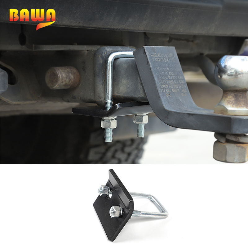 BAWA Universal Trailer Couplings Accessories U-Bolt Heavy-Duty Anti-Rattle Stabilizer Hitch Lock Suitable For All Hook Openings