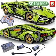 SY BLOCK high-tech Expert Sport samochodowe klocki budowlane przyjaciele Creator Model pojazdu cegły zabawki edukacyjne prezent urodzinowy dla chłopców
