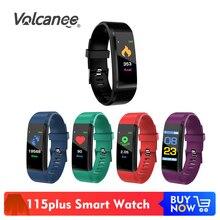 115plus Bracelet fréquence cardiaque pression artérielle bande intelligente Fitness Tracker Smartband Bluetooth Bracelet fitbits montre intelligente hommes