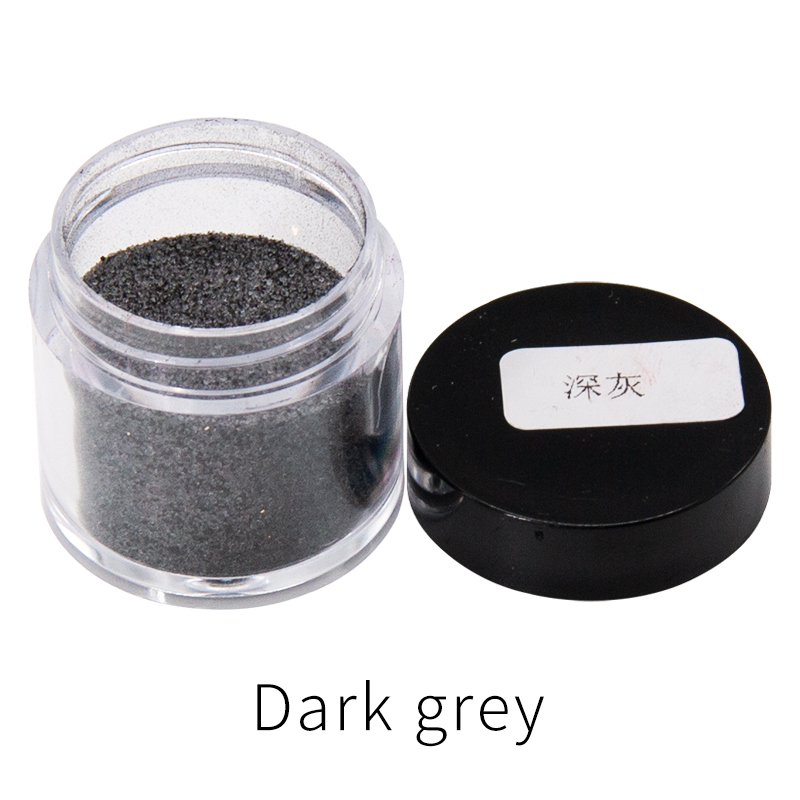 Dark Gray Fabric Dye Powder Pigment Dye For Clothing Renovation Clothes Feather Bamboo Dyestuff Acrylic Paint Powder 10g/bottle
