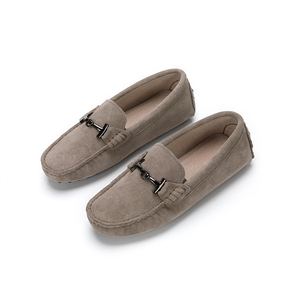 Image 4 - MIYAGINA 100% Genuine Leather Women Shoes 2020 New Women Flats Spring Flat moccasins Woman Casual Shoes 17 Colors Size 34 41