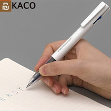 2019 Youpin KACO 4 In 1 Easy 4 FUNTIONS PEN Multifunction Pens 0.5mm Black Blue Red Green Refill Gel Pen For Office Student