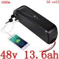 48В 500 Вт 1000 Вт Батарея для электровелосипеда 48В 13ач 17ач 36В 14ач 17ач 20ач для использования LG передняя часть  Задняя Ступица/средний привод мото...