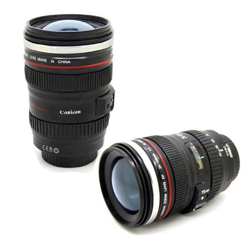 Бесплатная доставка кофейная кружка 24-105 мм 1:1 объектив камеры шесть поколение креативной эмуляции кружка (с крышкой)
