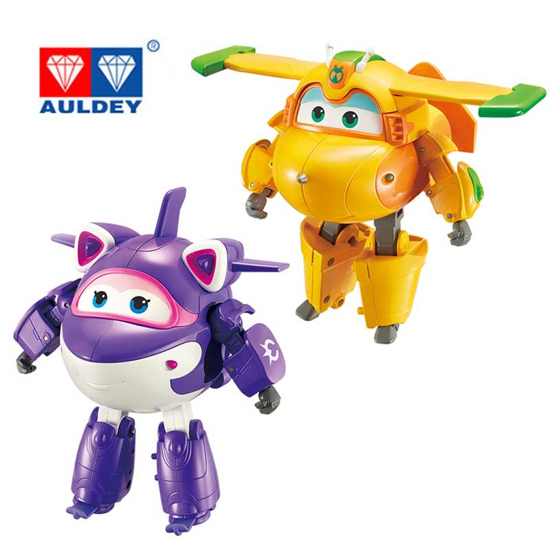 Newest 15CM ABS Super Wings Deformation Jet Robot Action Figures Super Wing Transformation Toys For Children Gift Brinquedos