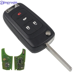 Image 2 - jingyuqin 10ps Remote Car Key for Chevrolet Malibu Cruze Aveo Spark Sail 2/3/4 Buttons 433/315MHz Control Alarm Fob