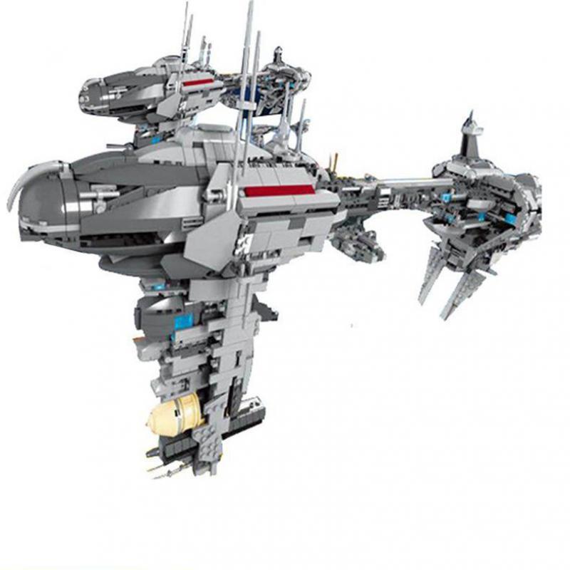 05083 stern plan series MOC The Lepining star Wars Nebulon-B Medical Frigate Set Educational Building Block Bricks Toys Models 1