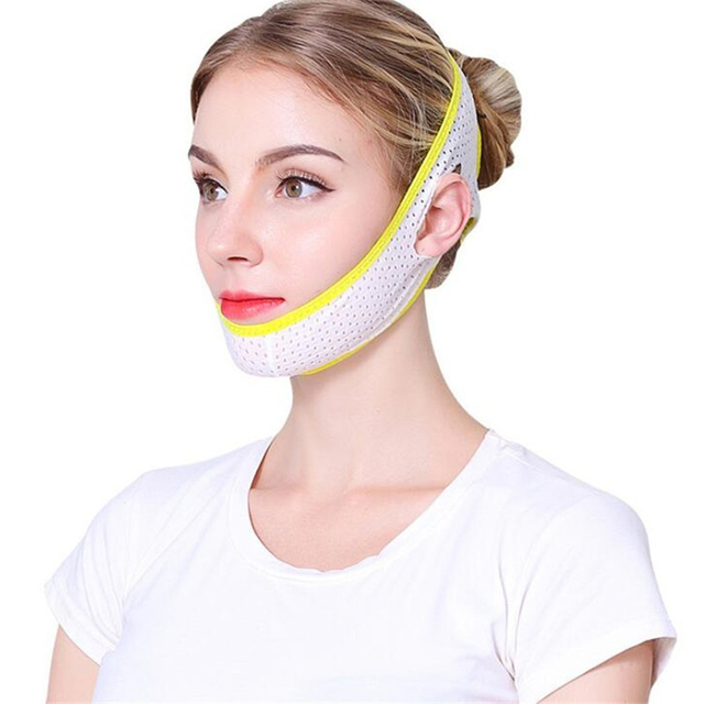 Face Lift Up Mask Bandage Care Chin Cheek Beauty Slimming Belt V-Line Face Lifting Facial Slimming Beauty Anti-Aging Tool 3